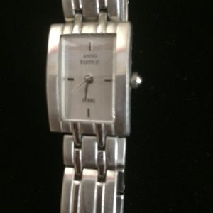 Anne Klein II Ladies All Stainless Steel Watch